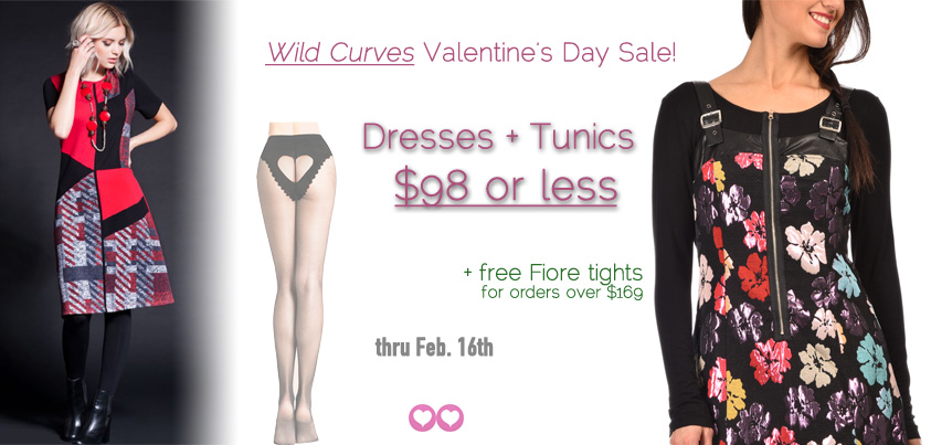 Valentine's Day Special - $98 Dresses and Tunics